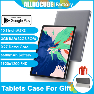 ALLDOCUBE M5XS 10.1 inch Tablet Android OS X27 Deca Core 4G LTE Phone Call tablets PC 1920x1200 FHD IPS 3GB RAM 32GB ROM GPS Pad