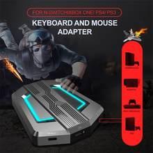 Nowy P6 klawiatura mysz konwerter Adapter klawiatura z myszką kontroler kompatybilny dla PS4/PS3/Xbox One/Xbox 360/n-switch