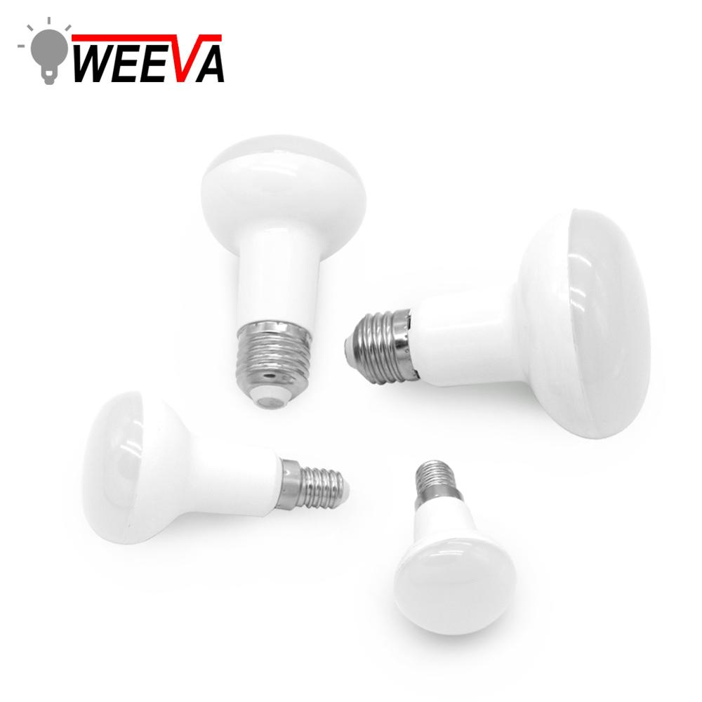 R39 R50 R63 R80 Dimmable Led Bulb E14 E27 Bombillas Lamp Cfl Ampoule Spotlight Light Lampada 110V 220V Saving 3W 5W 9W Energ