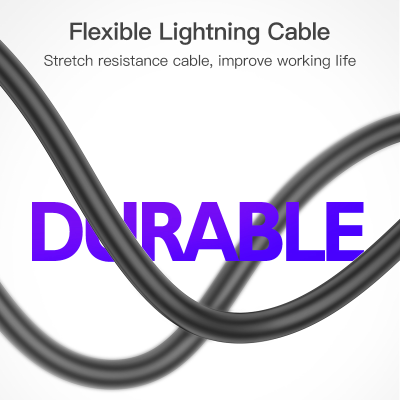KUULAA MFi Lightning Cable For iPhone X XS Max XR Fast Charging USB Charger Cable For iPhone Cable 8 7 6 Plus 5S USB Charge Cord in Mobile Phone Cables from Cellphones Telecommunications