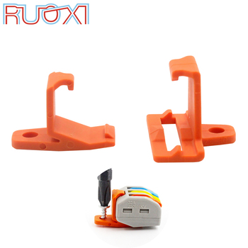 цена на Wire Connector Mount 10/30/50 Quick Connector Cable Connector Conductor Block Terminal Connector Fixing Accessories