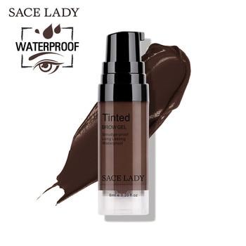 SACE LADY Waterproof Eyebrow Gel Makeup Henna Shade For Eye Brow Tint Natural Enhancer Make Up Cream Long Lasting Brand Cosmetic