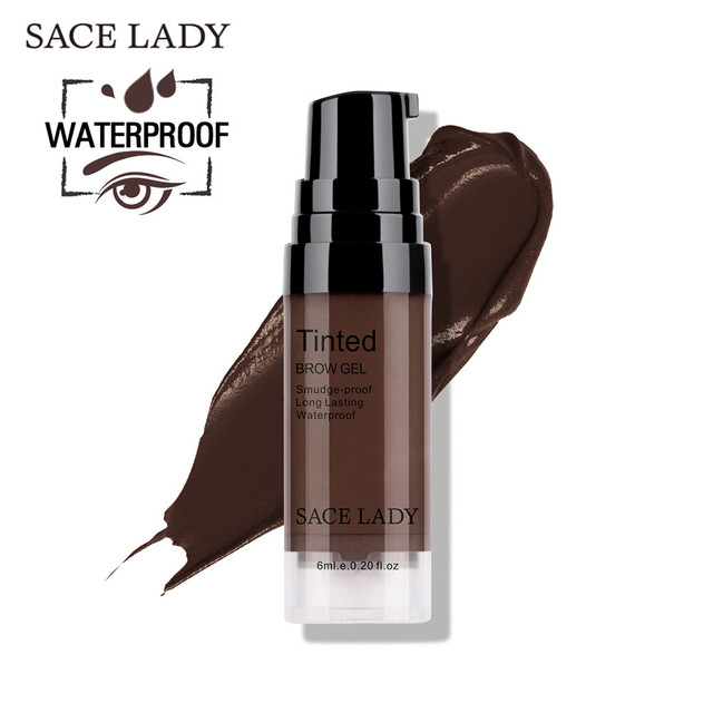 SACE LADY Waterproof Eyebrow Gel Makeup Henna Shade For Eye Brow Tint Natural Enhancer Make Up Cream Long Lasting Brand Cosmetic 5
