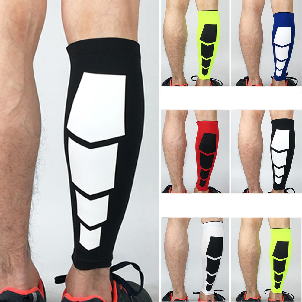 Sports Leg Warmers Lower Leg Pressure Sleeve Socks High Elasticity 1 Piece