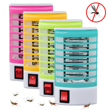 LED Socket Electric Mosquito Killer Lights EU/US Plug Socket Mosquito Fly Bug Insect Trap Killer Light Zapper Night Light
