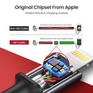 Image 3 - Ugreen kabel USB na kabel do iphone Lightning 2.4A szybka ładowarka do iPhone 11 Pro Max Xs Max XR X 8 7 6 5 iPad iPod przewód danych przewód
