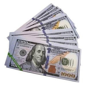 Joss Paper Heaven Hell Banknotes Currency Prop Ancestor Money Dollar Feng Shui Birthdays Memento (US.1000)