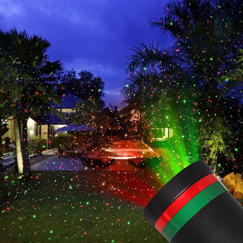 Outdoor Waterproof LED Stage Light Garden Tree Moving Laser Projector Lamp Christmas Decorations For Home Proyector