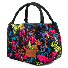 2019 New Graffiti Print Fresh Keep Lunch Cooler Bag Thermal Insulated Waterproof Travel Picnic Bags Office Women Bento Box