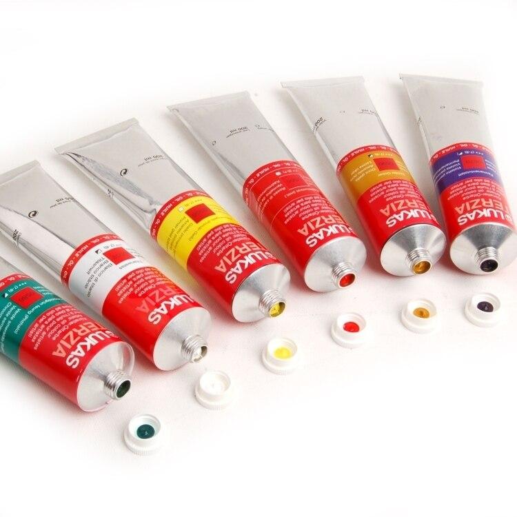 Lukas Oil Painting Pigment S Level Germany Original Beginner Single Tube 200ml Painter Art Supplies For Artist