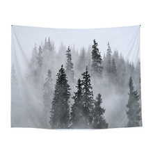 waterfall mountain rock natural scenery print tapestry wall hanging real effect lifelike bohemian wall blanket hippie carpets 100% Polyester Printed Tapestry Wall Hanging Hippie Blanket Bohemian Hanging Tapestry Animal Pattern Dorm Yoga Tablecloth