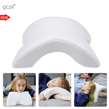 QCZX Slow Rebound Pressure Pillow Memory Foam Bedding Multifunction Anti-pressure Hand Health Neck Couple