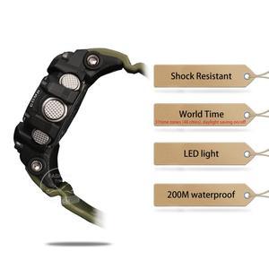 Image 2 - Zegarek Casio G SHOCK zegarek mężczyźni top luksusowy zestaw wojskowy LED relogio zegarek cyfrowy sport 200m wodoodporny zegarek kwarcowy mężczyzna zegarek masculino