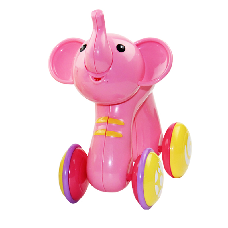 Electric Cartoon Elephant Toy Baby Climbing Toy Electric Toy Music Press Function Baby Climbing Toy Infant Early Educational Toy