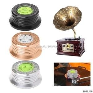 Image 2 - Universele 50Hz Lp Vinyl Record Disc Draaitafel Stabilizer Aluminium Gewicht Klem Dropship