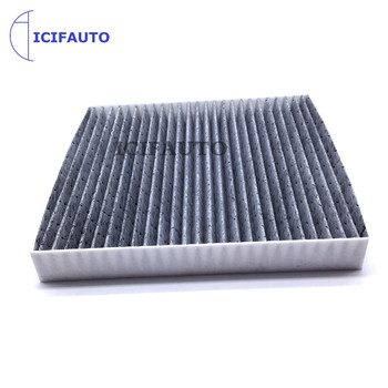 Car Activated Carbon Pollen Cabin Air Filter For Mitsubishi Lancer Outlander Sport RVR Nissan Altima Maxima Sentra B727A-79925 image