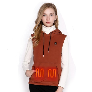 Made in China low price 2019 zip up heated hoodie