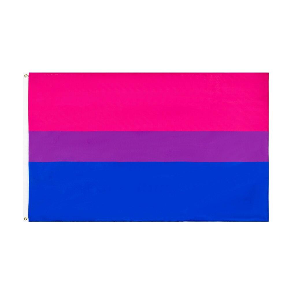 WN 60x90 90x150 см ЛГБТ Bi бисексуальный Прайд флаг бисексуалов для украшения Флаги, баннеры и аксессуары      АлиЭкспресс