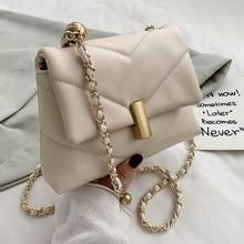Luxury Designer Chains Crossbody Bags For Women Fashion Diamond Lattice Shoulder Bags 2020New Soft Women Messenger Bags Totes