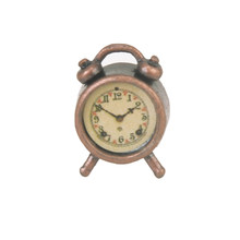 1/12 Dollhouse Miniature Model Mini Alarm Clock Morning Room House Hom Decor Toys(China)