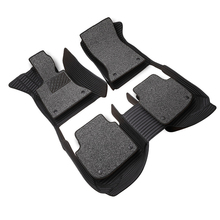 цена на Custom fit special waterproof car floor mats for Land Rover Discovery 3/4 freelander 2 Range Rover Sport Evoque 3D car styling