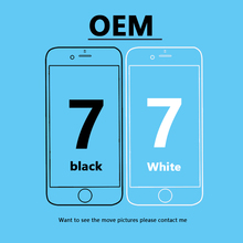 Black /White Original OEM iPhone 7 LCD Display For iphone 7 LCD Touch Screen Replacement Digitizer Assembly Perfect repair Phone