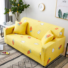 Refresh Polyester Sofa Cover Big Elasticity Spandex Stretch Couch Cover Loveseat Sofa Towel Furniture Sofa Covers Machine Wash(China)