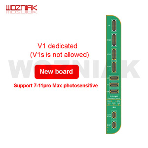Image 5 - JC V1SสำหรับIPHONE 7 8 8P XแสงสีเดิมTouchแรงกระแทกลายนิ้วมือSNโปรแกรมเมอร์Dot Matrix x 11 PRO MAX