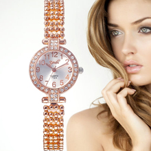 цены TOP Brand Luxury Bracelet Watches Women Watch Rose Gold Women Watches Diamond Ladies Watches Clock Relogio Feminino Reloj Mujer