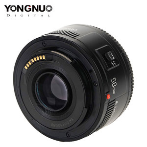 Image 1 - Original YONGNUO Lens YN50 mm 50mm F1.8 Camera Lens for Canon EOS 60D 70D 5D2 5D3 600D for Nikon D800 D300 D700 DLSR Camera Lens