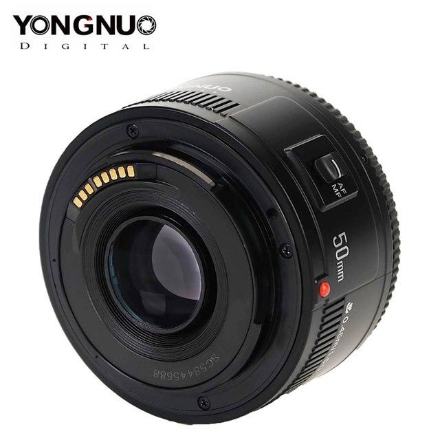 Original YONGNUO Lens YN50 mm 50mm F1.8 Camera Lens for Canon EOS 60D 70D 5D2 5D3 600D for Nikon D800 D300 D700 DLSR Camera Lens