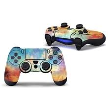Виниловые декоративные наклейки кожного покрытия наклейка обертывание для Playstation 4 PS4 контроллер Q84A