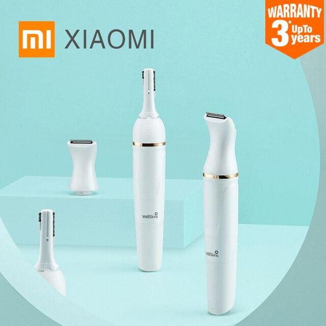 2020 Xiaomi Mijia Wéllskins WX TM01 Lông Mày Tông Đơ Cắt Tóc Không Dây Cắt Tóc Chuyên Nghiệp Brow Tóc An Toàn Khi Sạc