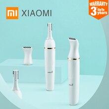 2020 xiaomi mijia wéllskins WX TM01 sobrancelha aparador de pêlos para corte cabelo sem fio profissional sobrancelha tosquiadeira de cabelo carregamento seguro