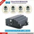 4Chanel Full D1 HDD Мобильный Ahd DVR Cloud Tech Автомобильный видеорегистратор с бесплатным Облачное программное обеспечение поддержка дополнительного ...