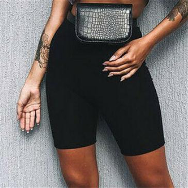 Summer Sexy Shorts Women's Cycling Short Dancing Gym Biker Hot Bottom New Pure Active Lady Stretch Exercise Casual Running Short