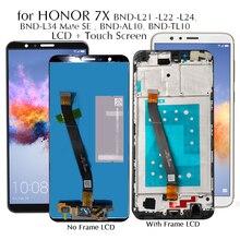 Дисплей для Honor 7X 7 X BND-L21/L22/L24 ЖК-дисплей сенсорный экран Замена для BND-L34 Huawei Mate SE протестированный ЖК-экран для телефона