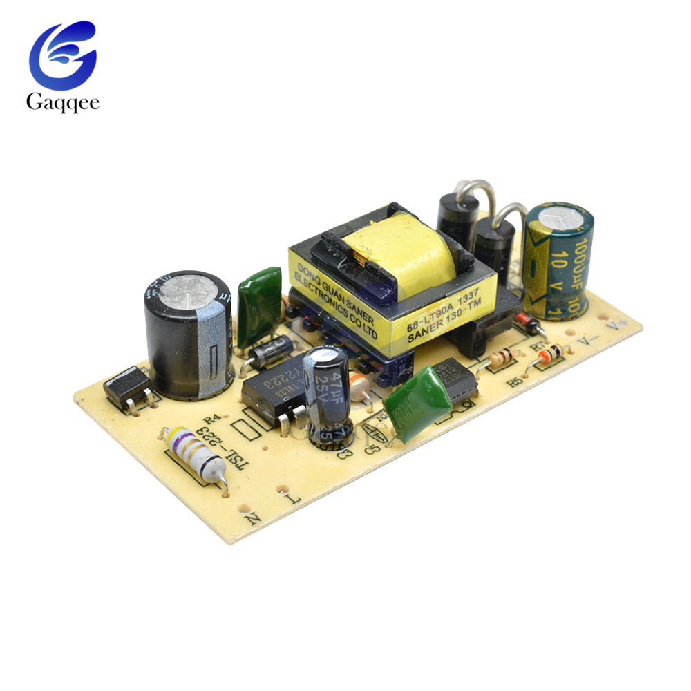 AC-DC 100-240V To 5V 2.5A Switching Power Supply Module DC Voltage Regulator Bare Board Repair 2500MA SMPS 110V 220V To 5V