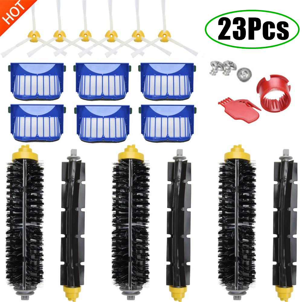 Replacement Accessories Kit for iRobot Roomba Vacuum Cleaner 600 Series 690 680 660 651 650 & 500 Series