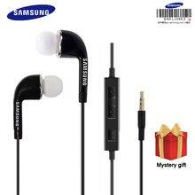Original samsung fone de ouvido ehs64 com fio 3.5mm in-ear com microfone para samsung galaxy s6 s7 s8 apoio certificação oficial