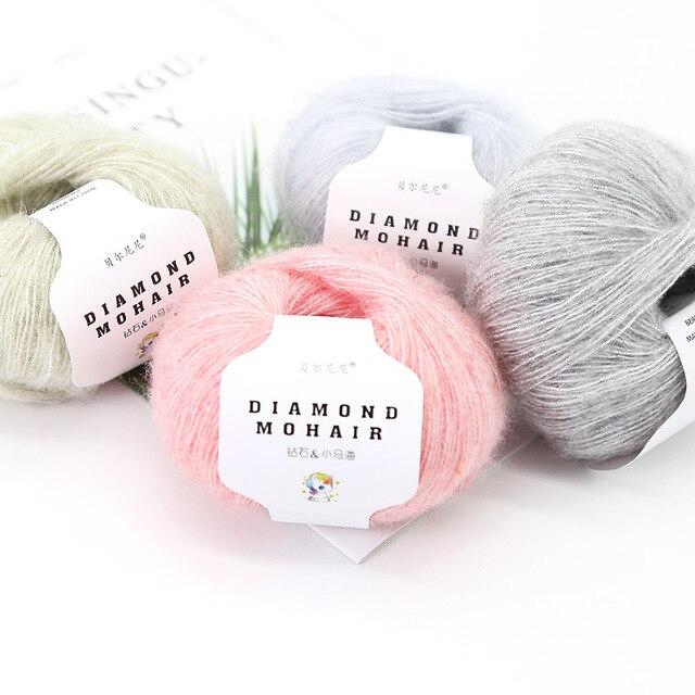 Fils de laine crochet pour cheveux | Fils de laine, crochet, pour bébé, pull à tricoter, 166m 0.9mm, pièces
