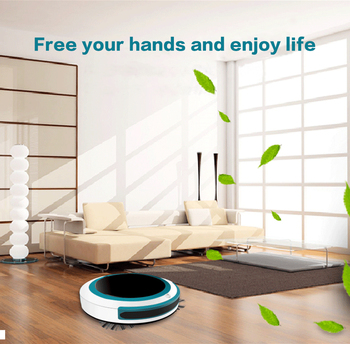 220V Smart Robot Automatic Vacuum Cleaner Dry Wet Sweeping Cordless Auto Dust Sweeper Machine Anti-drop for Home Cleaning