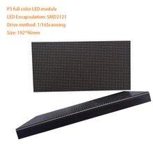 P3 192*96mm modułu LED darmowa wysyłka SMD kryty elastyczny wyświetlacz matryca led ekran P4 P5 P6 P10 kolorowy 64*32 punktów panel ledowy