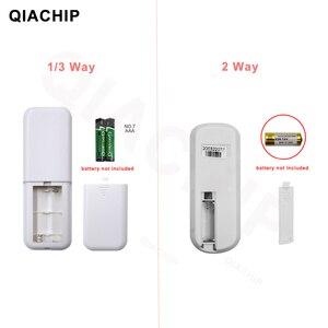 Image 4 - QIACHIP 1/2/3 Way Relay AC 220V RF Remote Digital Wireless Remote Control Switch Ceiling Fan Panel Control Switch For Light Bulb