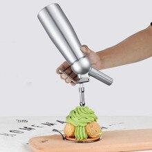 Dispenser Kitchen Aluminium Whipped Cream Cream Whipper Dessert Tools with Nozzles Dropper 500ml