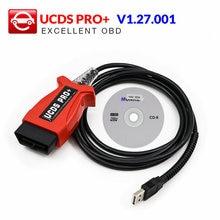 Professionelle für FOCOM UCDS PRO + V 1.27.001 Mit 35 Tokens Full Lizenz UCDS pro UCDS Voll Aktivieren auto Auto radio Panel als geschenk