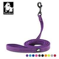 Truelove 200Cm Nylon Hund Blei Leine Laufen Reflektierende Hund Ausbildung Leine Lila Pet Leine Für Kleine Große Hunde Correa perro