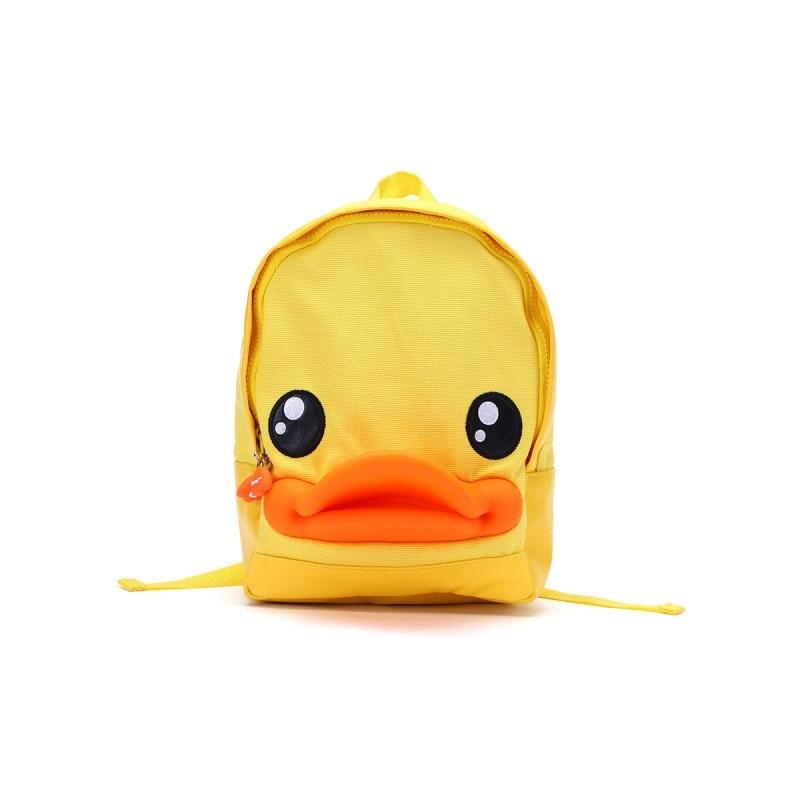 B. маленькая Желтая утка, Всесезонная сумка для родителей и детей, милый детский рюкзак с рисунком, популярный бренд для мужчин и женщин