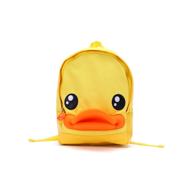 B. Duck Small Yellow Duck Four Seasons Bag Parent And Child Cartoon Cute CHILDREN'S Rucksack Popular Brand Men And Women Childre