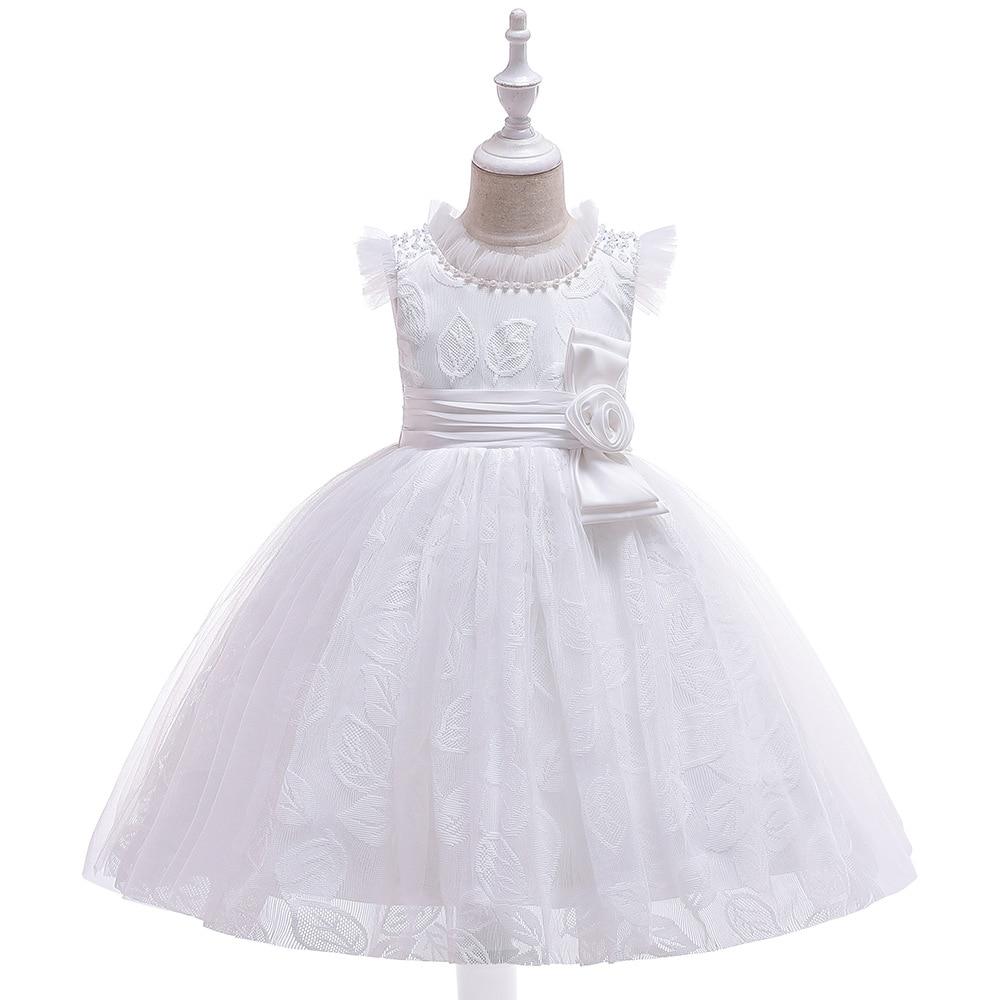 2019 Europe And America CHILDREN'S Full Dress New Style Gauze Fly Sleeve Puffy Princess Host Catwalks Performance Hun Sha Fu